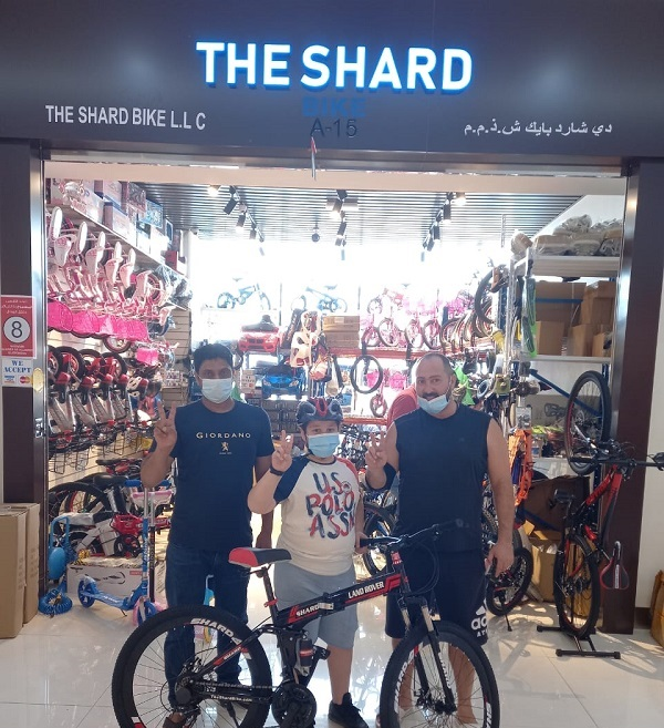Shard Bike Customer 1