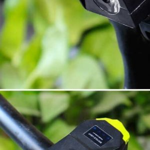 Touch switch Head Light Waterproof Bicycle Lamp 120 Db Loud Horn Alarm Bell Warning