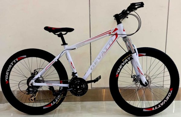 Gevatti Mountain Bike , Aluminium Frame, 24 Speed, 26 Inches