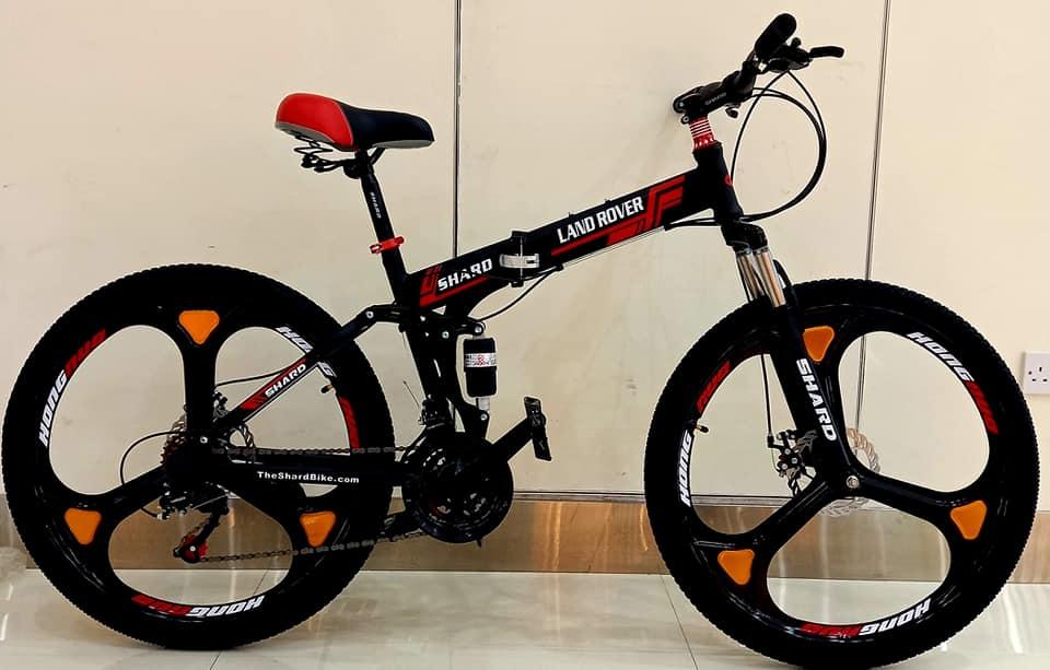 Shard Land rover Folding Bike girls bike vs boys bike