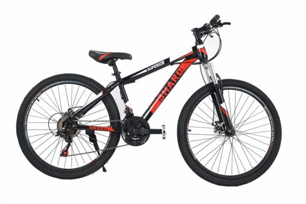 Superior Mountain Bike , Carbon Steel, 21 Speed, Size 24,26 Inches