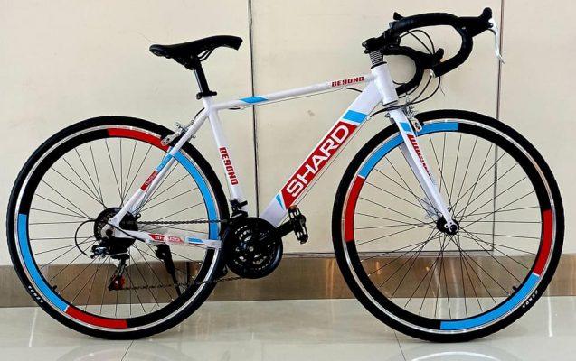 Shard Road Bike Aluminum Racing Bicycle, 21 speed