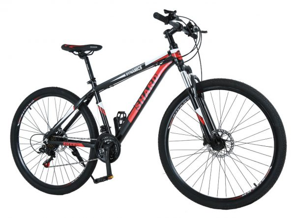 Shard Dynamics 29 Inch Mountain Bike,Frame Aluminum Hydraulic Disc-Brake 21Speed with Lock-Out Suspension Fork