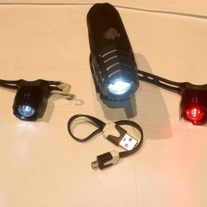 Shard Bicycles Head and Tail Light set