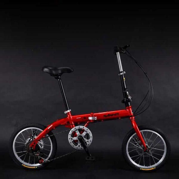 MTB Folding Bike 20,16inch 6 Speed-Mountain Bike